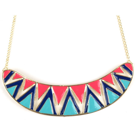 Geometric Fiesta Necklace £12