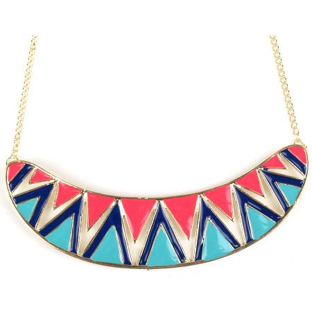 Geometric Fiesta Necklace £12