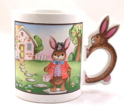 Vintage Kitsch Bunny Mug £9