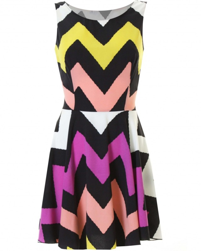 love zigzag dress